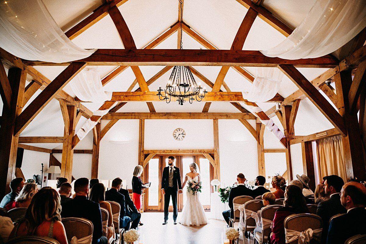Sandhole Oak Barn wedding wedding venue