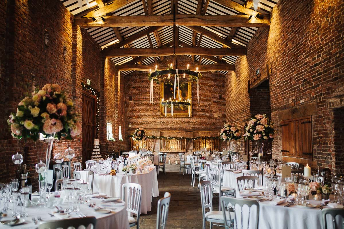Meols Hall rustic wedding barn