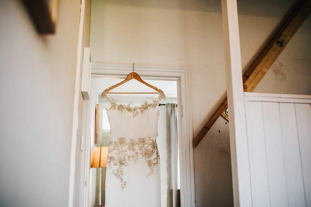 Beaded Enzoani wedding dress