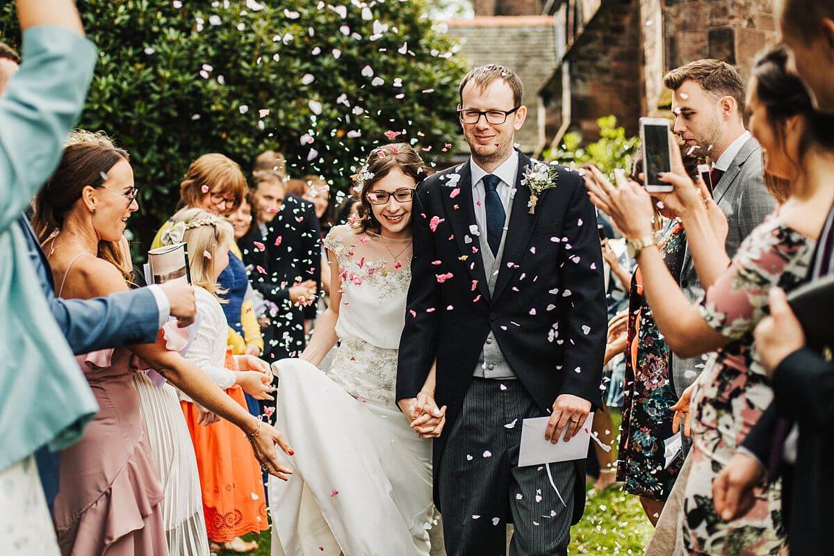 Beautiful confetti photography