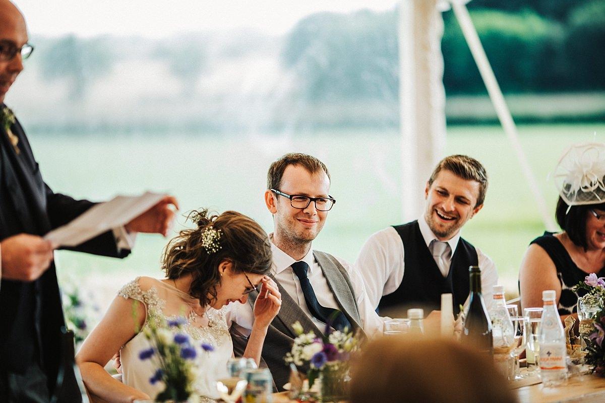 Embarrassing wedding speech