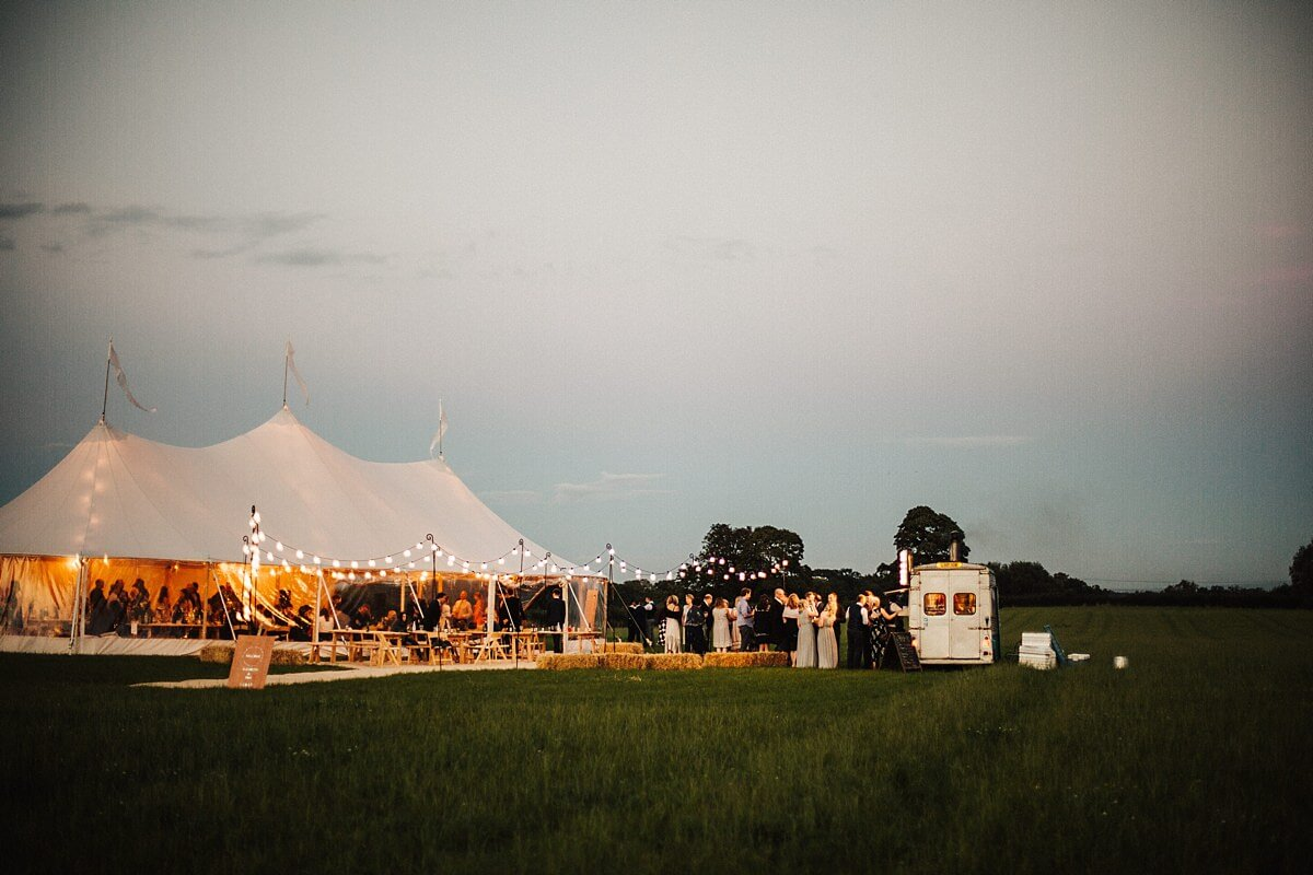 Cheshire marquee wedding