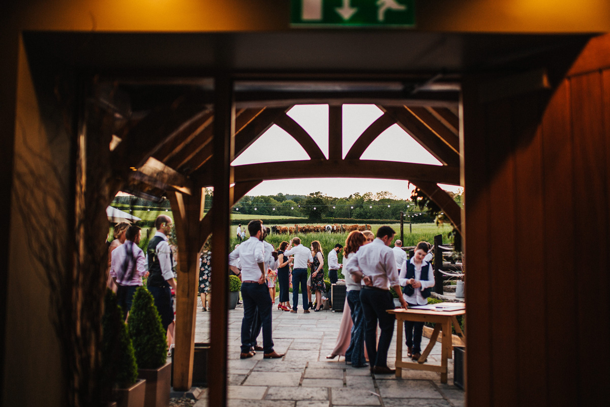 Outdoor wedding Wales
