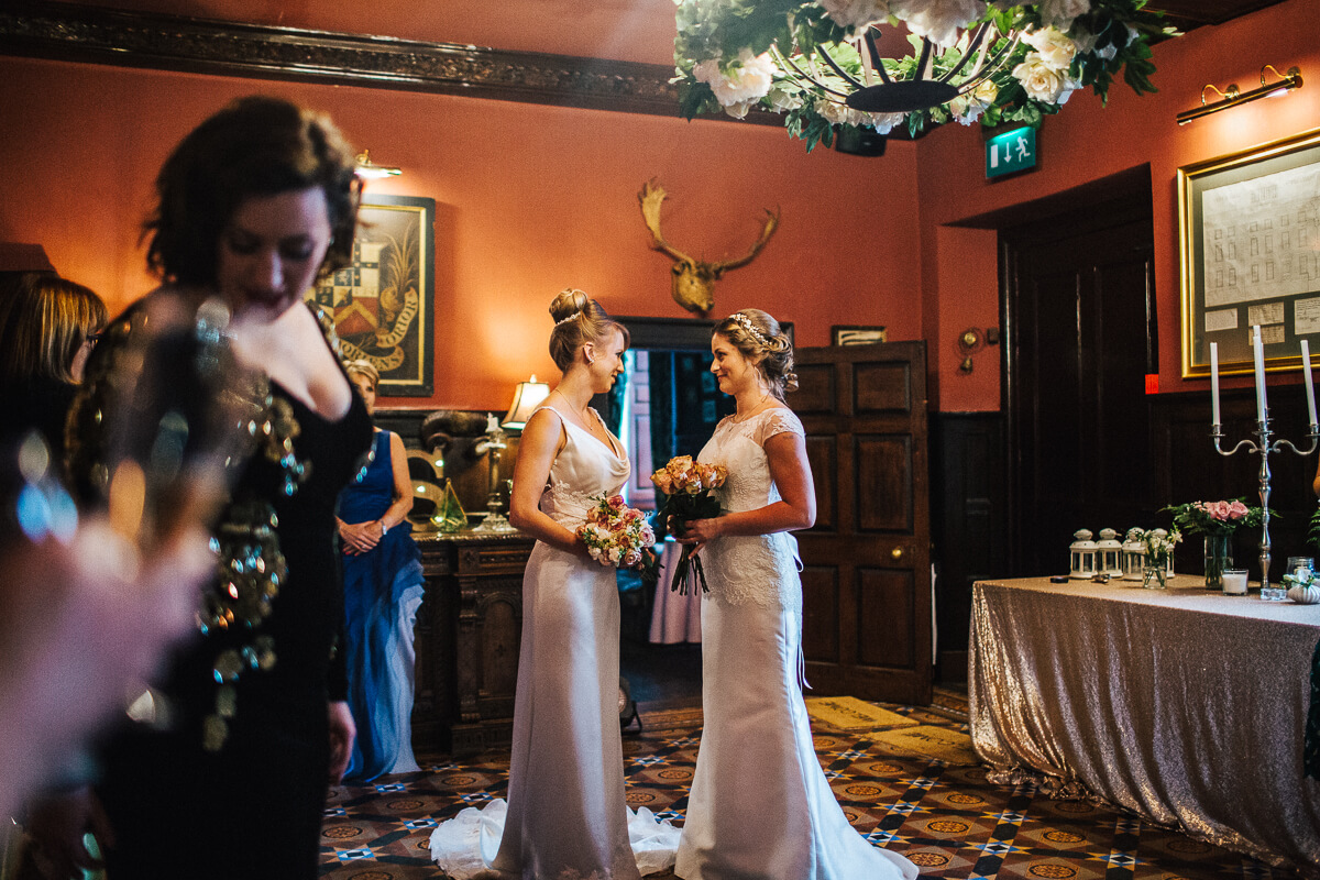 Intimate wedding in Wales