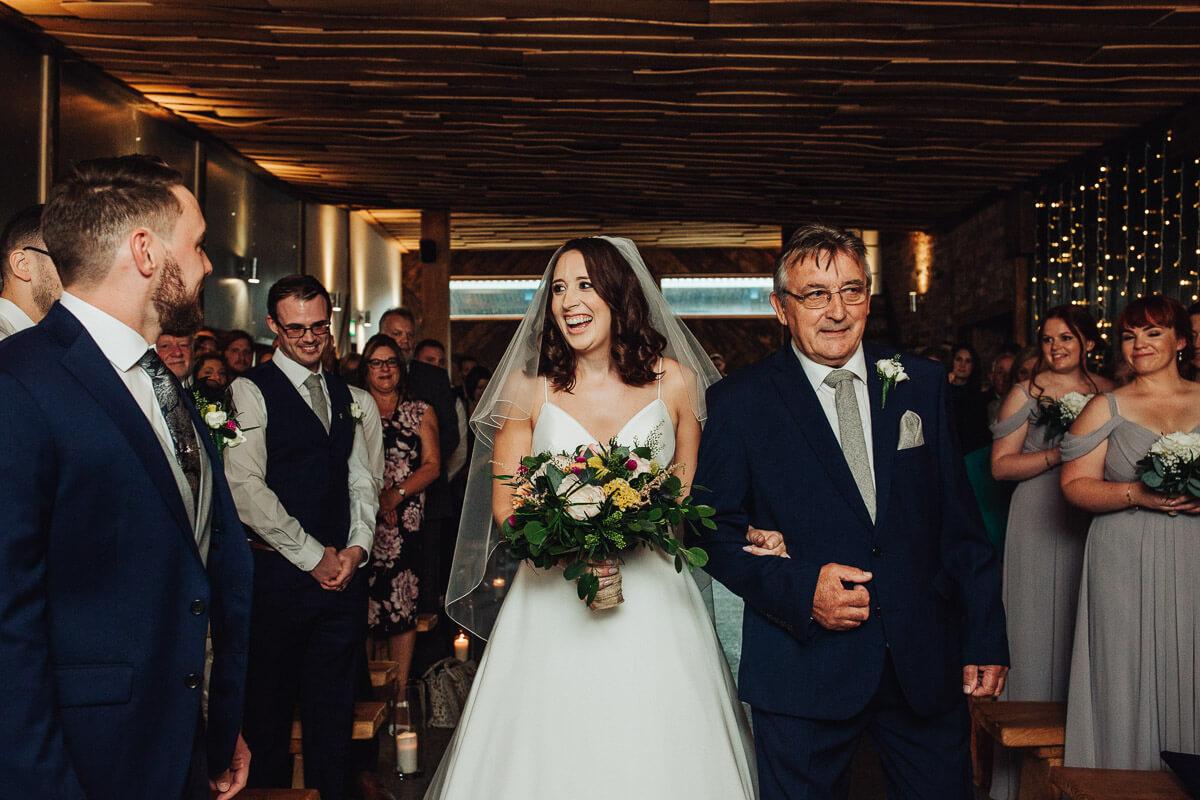 Owen House wedding barn ceremony