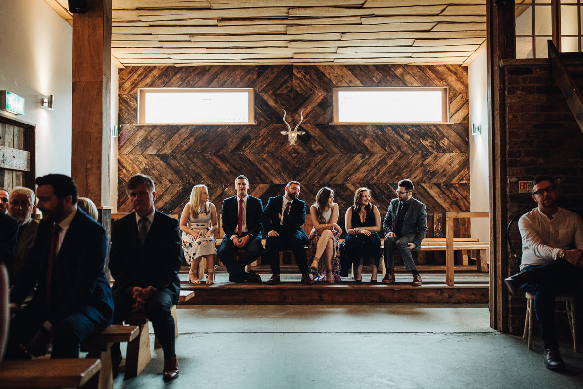 Rustic wedding barn Cheshire