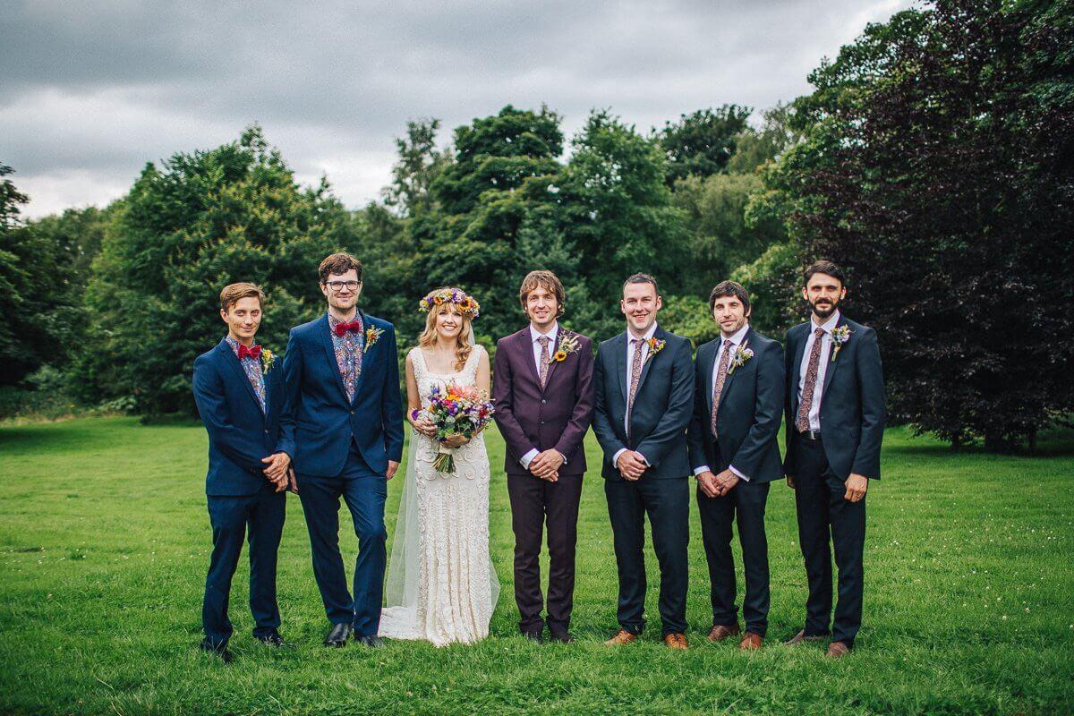 Ushers and groomsmen