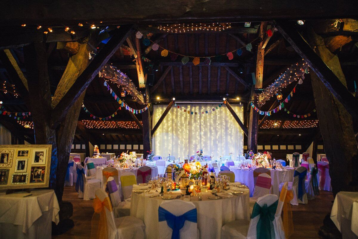 Lancashire wedding venue Rivington Hall Barn