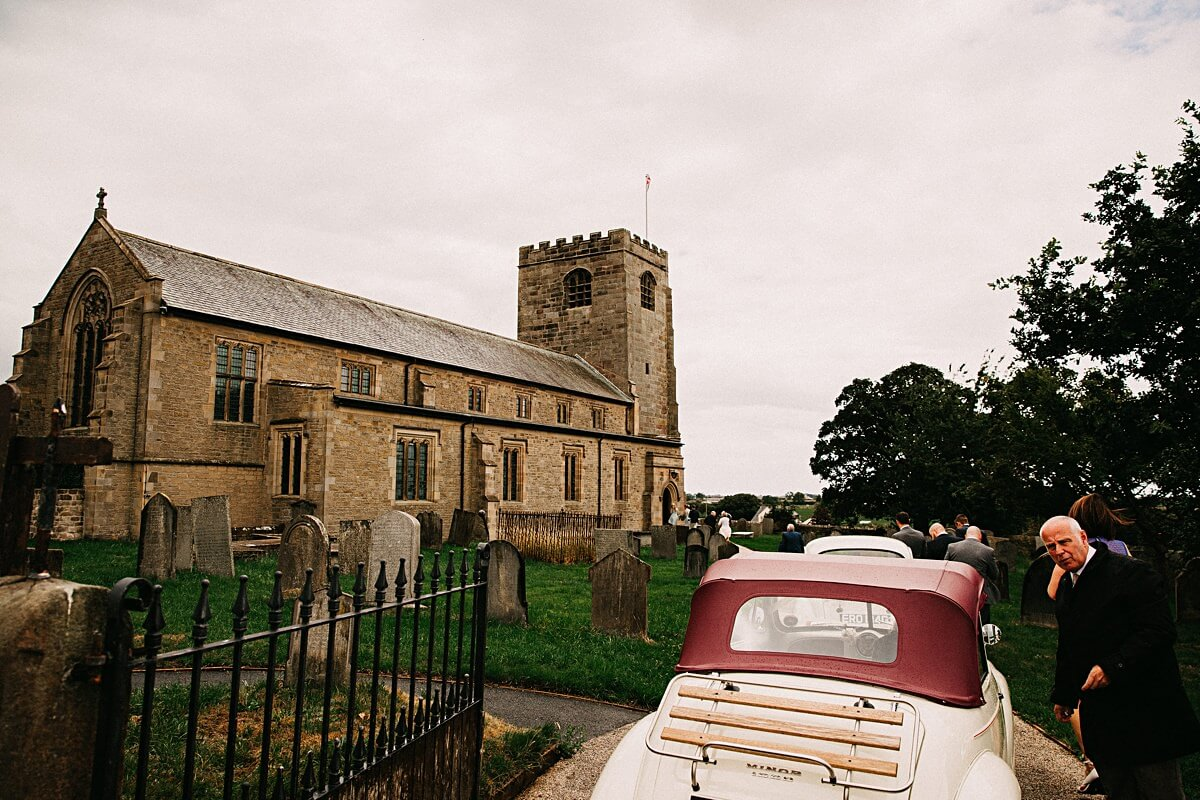 Scorton Church wedding