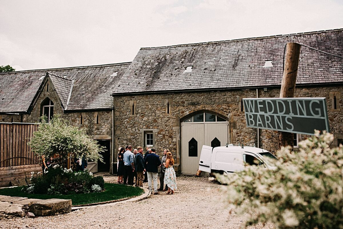 Rustic wedding Barn Lancashire