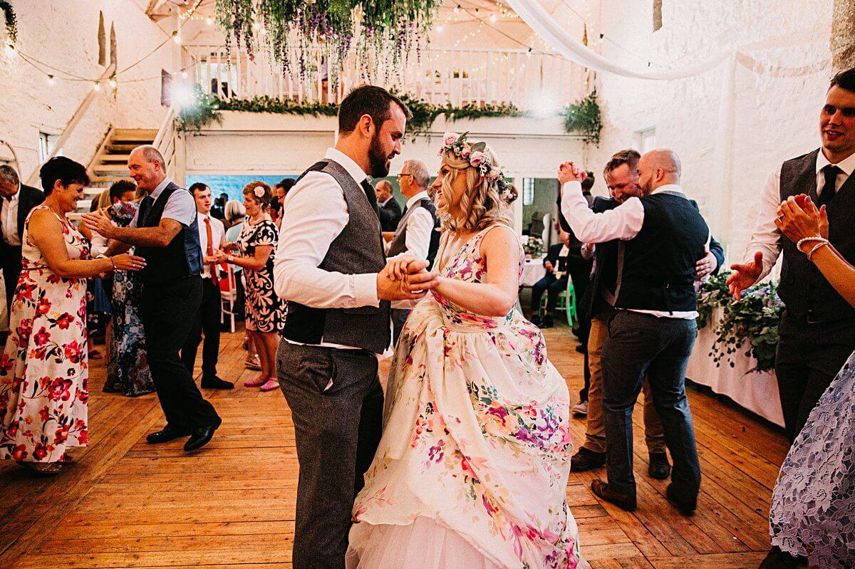Ceilidh wedding first dance