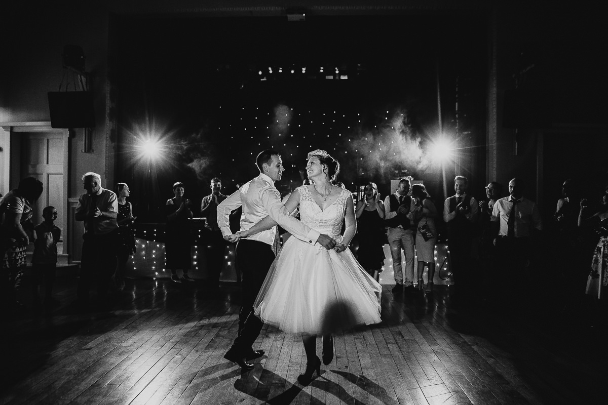 The Bowdon Rooms wedding dance