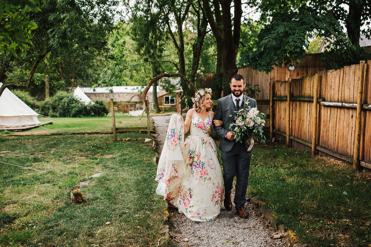 Boho Wyresdale Park wedding