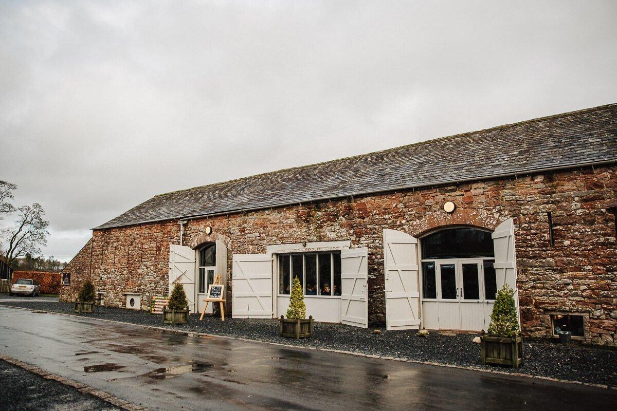 Askham Hall wedding barn Cumbria