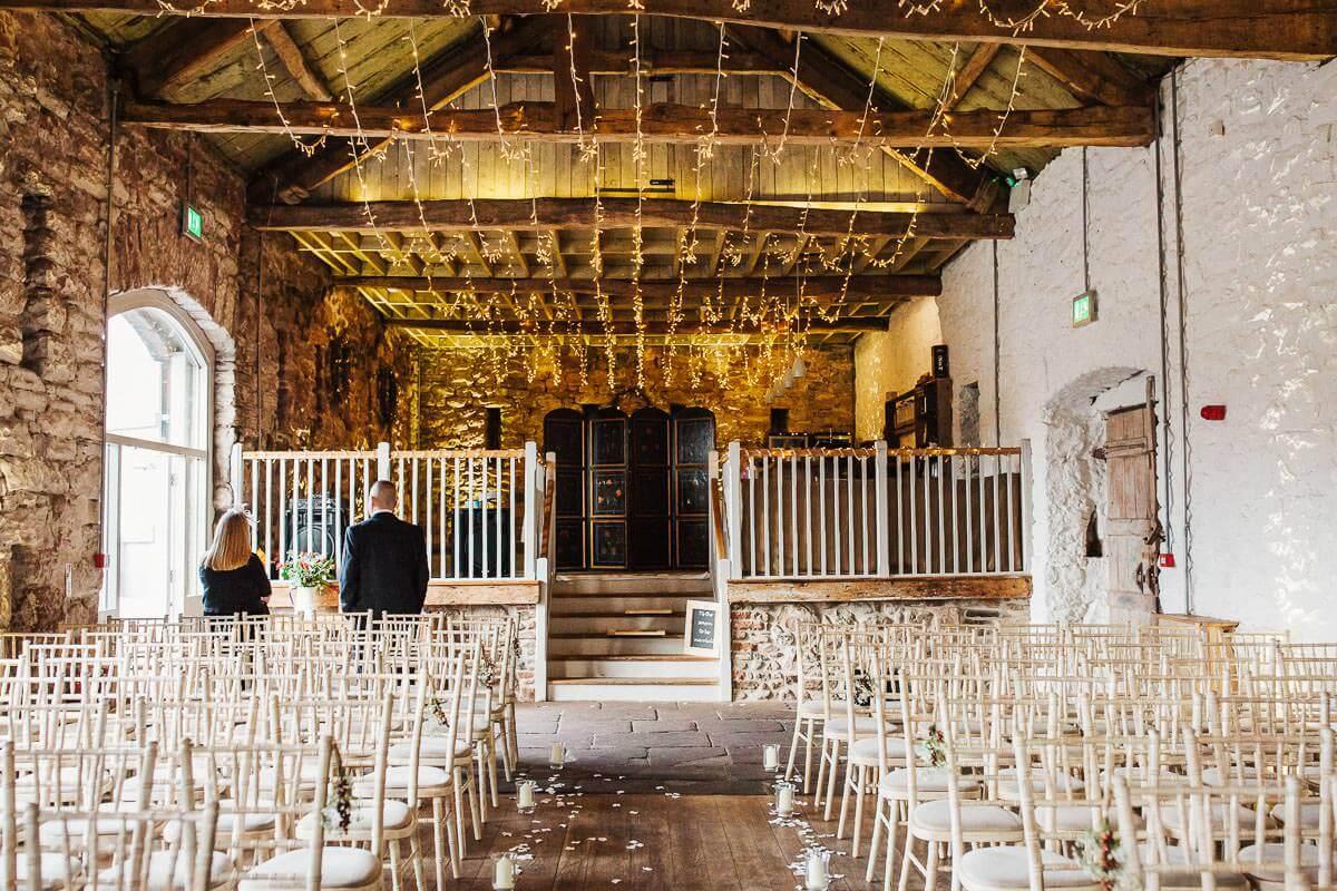 Askham Hall wedding barn