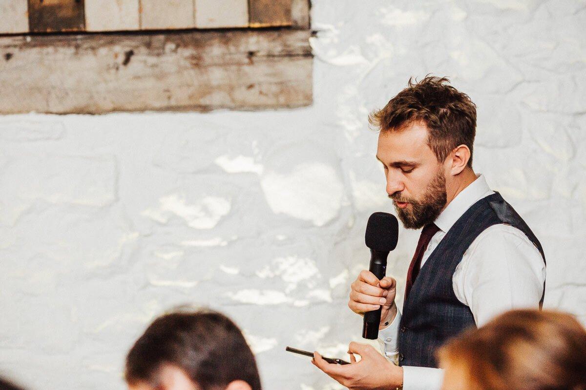 Best man's speech