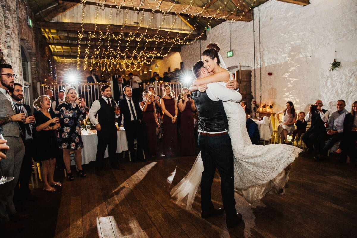 Beautiful first dance Askham Hall Barn
