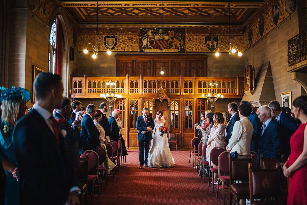 Elegant autumn wedding in Manchester