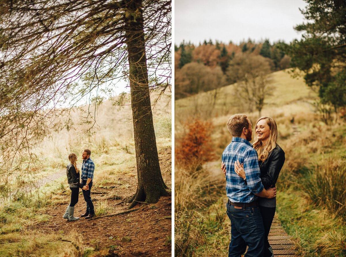 Woodland engagement shoot Macclesfield Forest