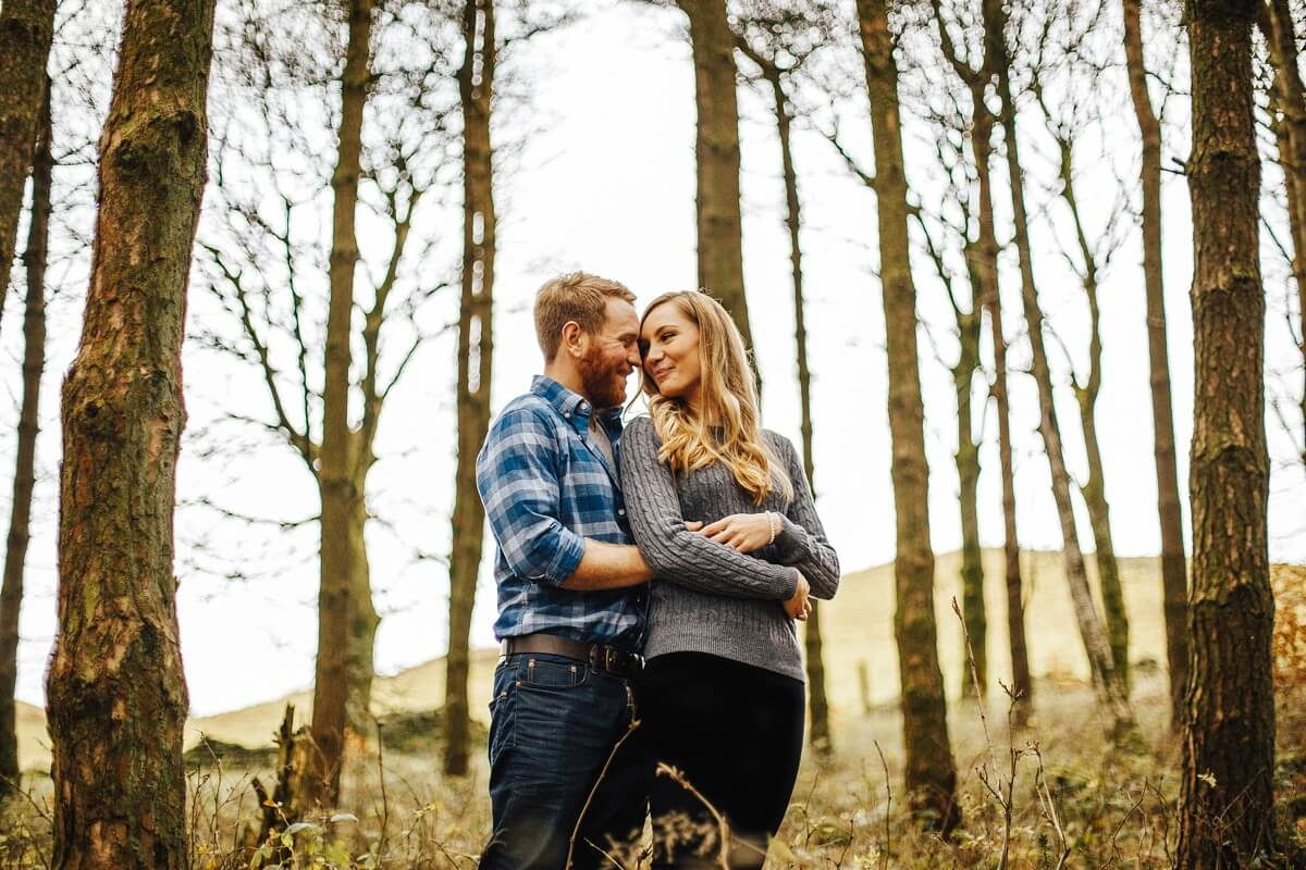 Engagement shoot Macclesfield Forest