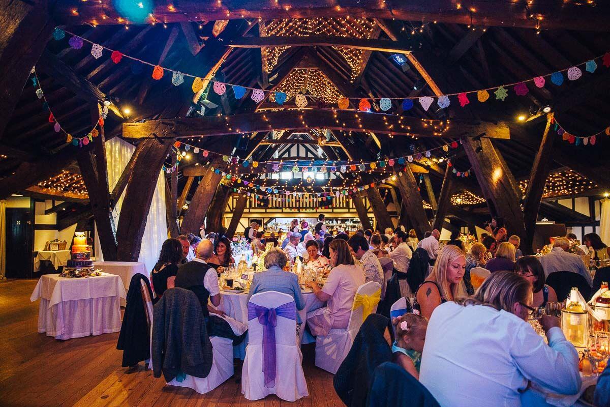 Rivington Hall Barn wedding venues near Manchester