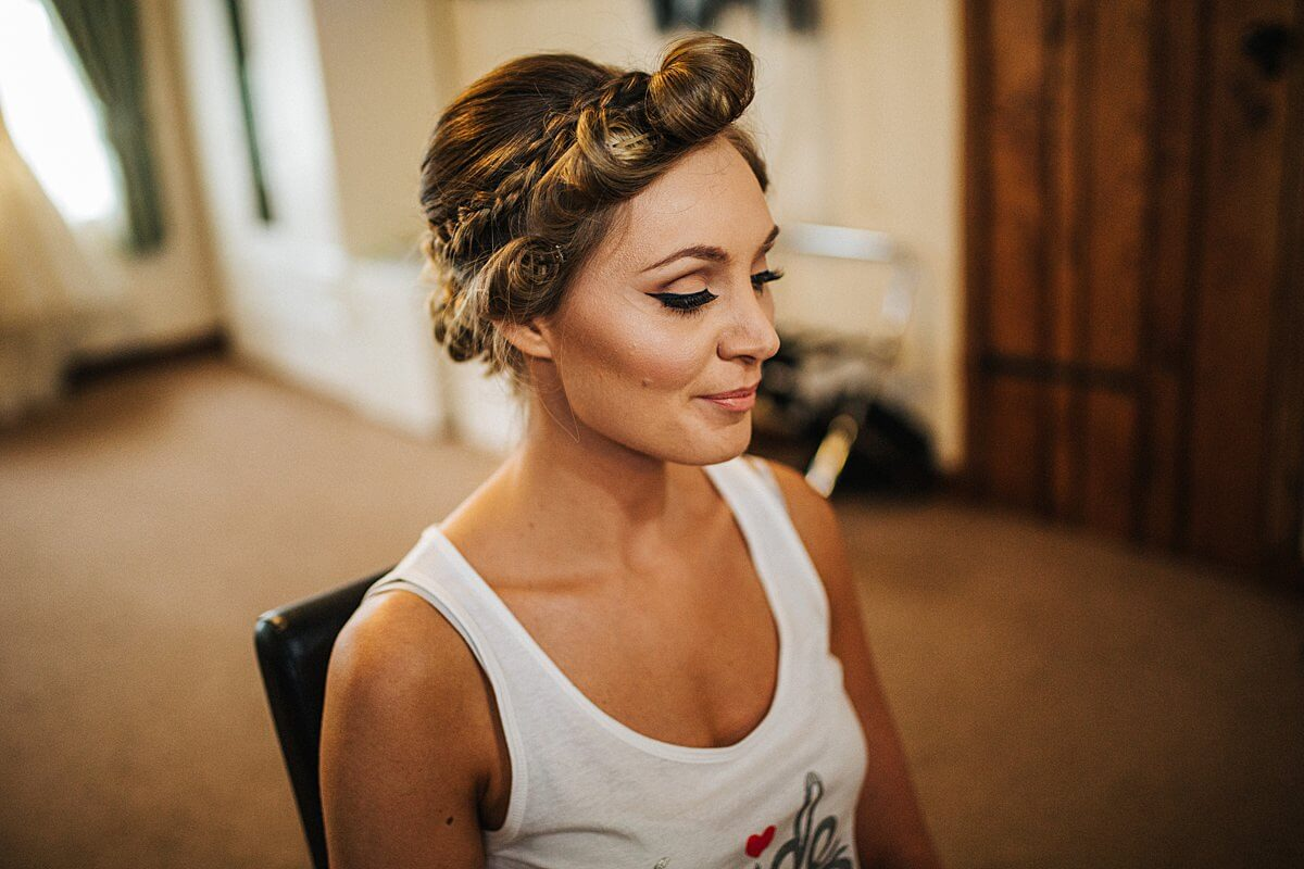 Bridal makeup Macclesfield