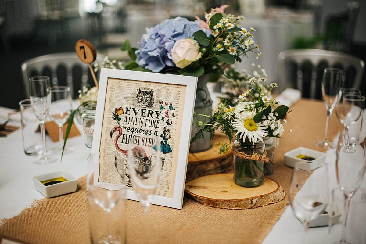 Rustic spring wedding decorations