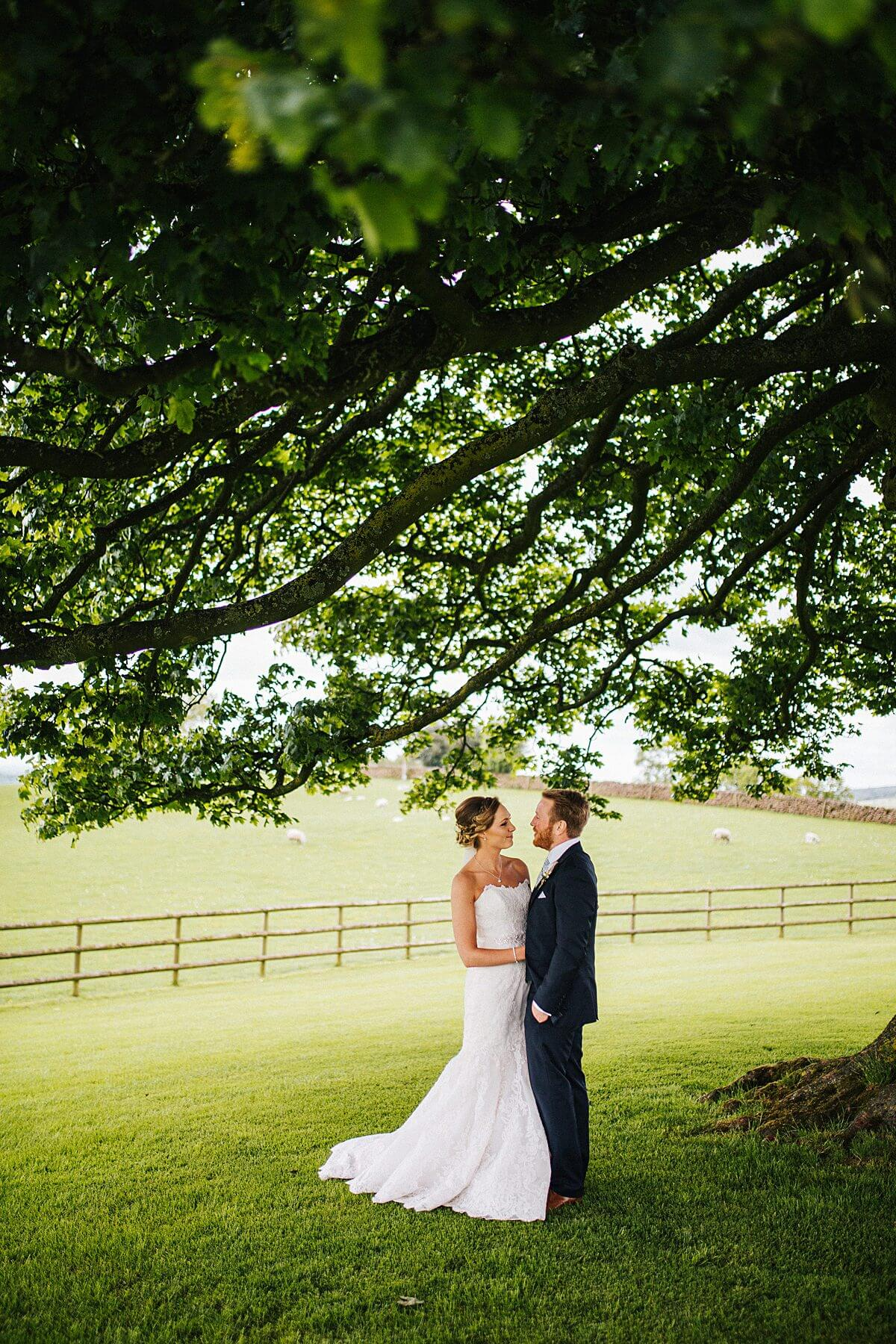 Natural wedding portraits Heaton House Farm