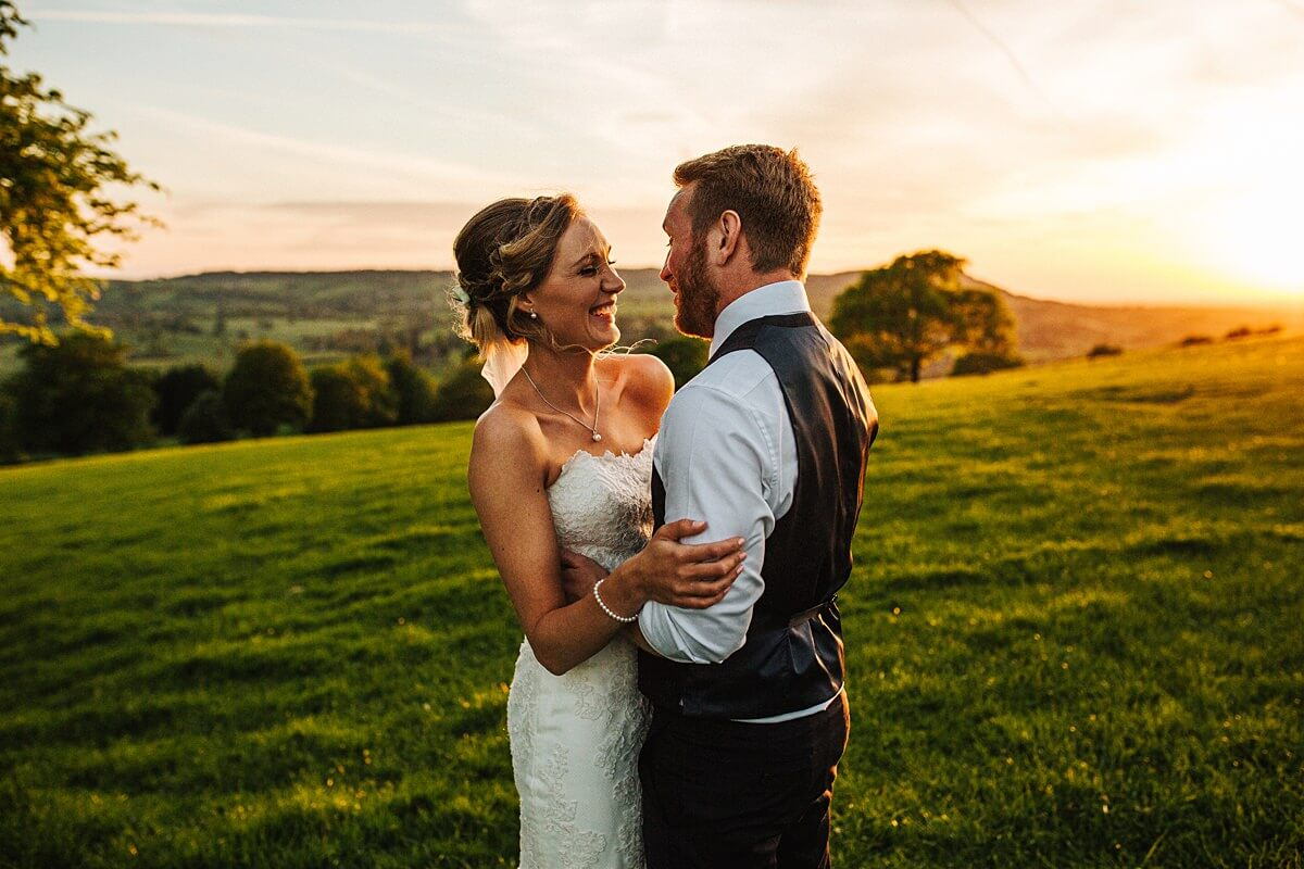 Stunning wedding portraits