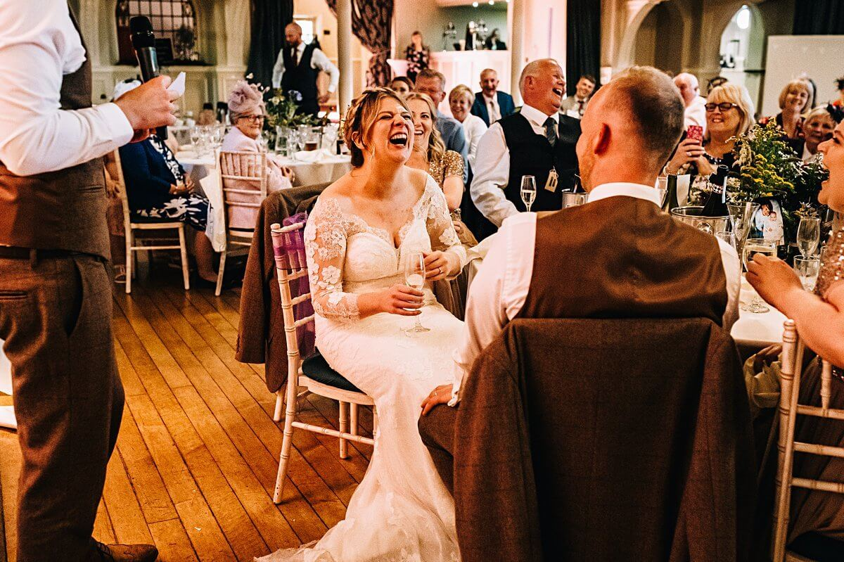 Bowdon Rooms wedding speeches