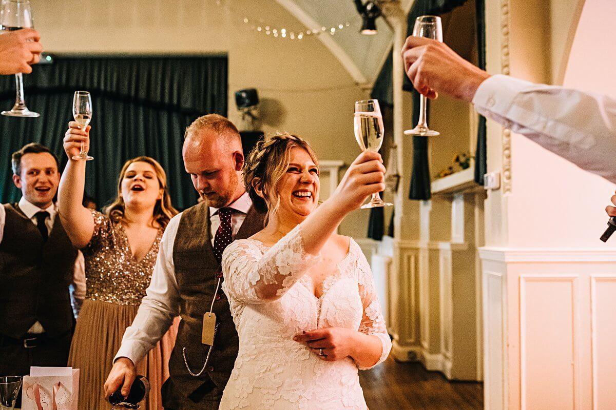 Colourful DIY wedding Cheshire