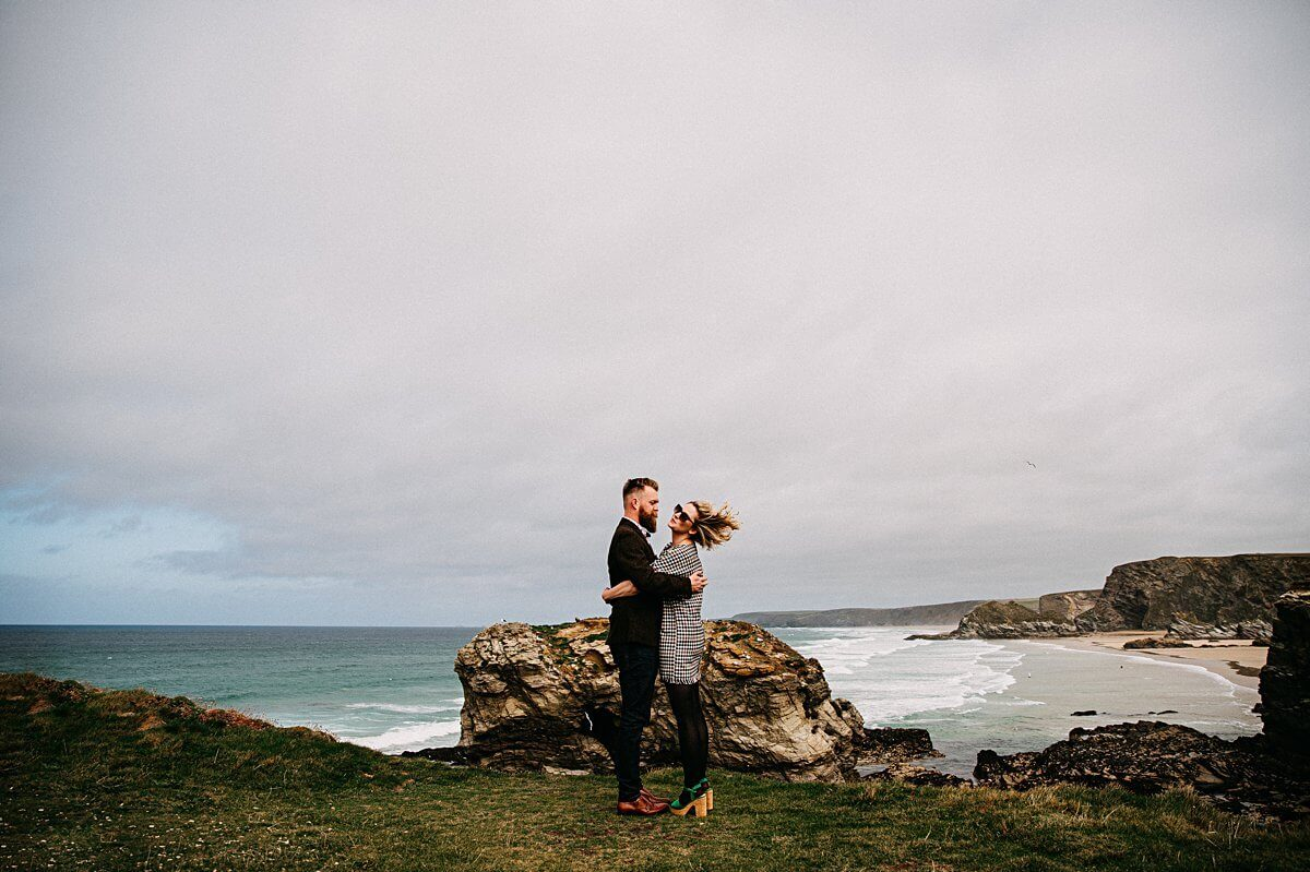 Cornwall Elopement Wedding Photography