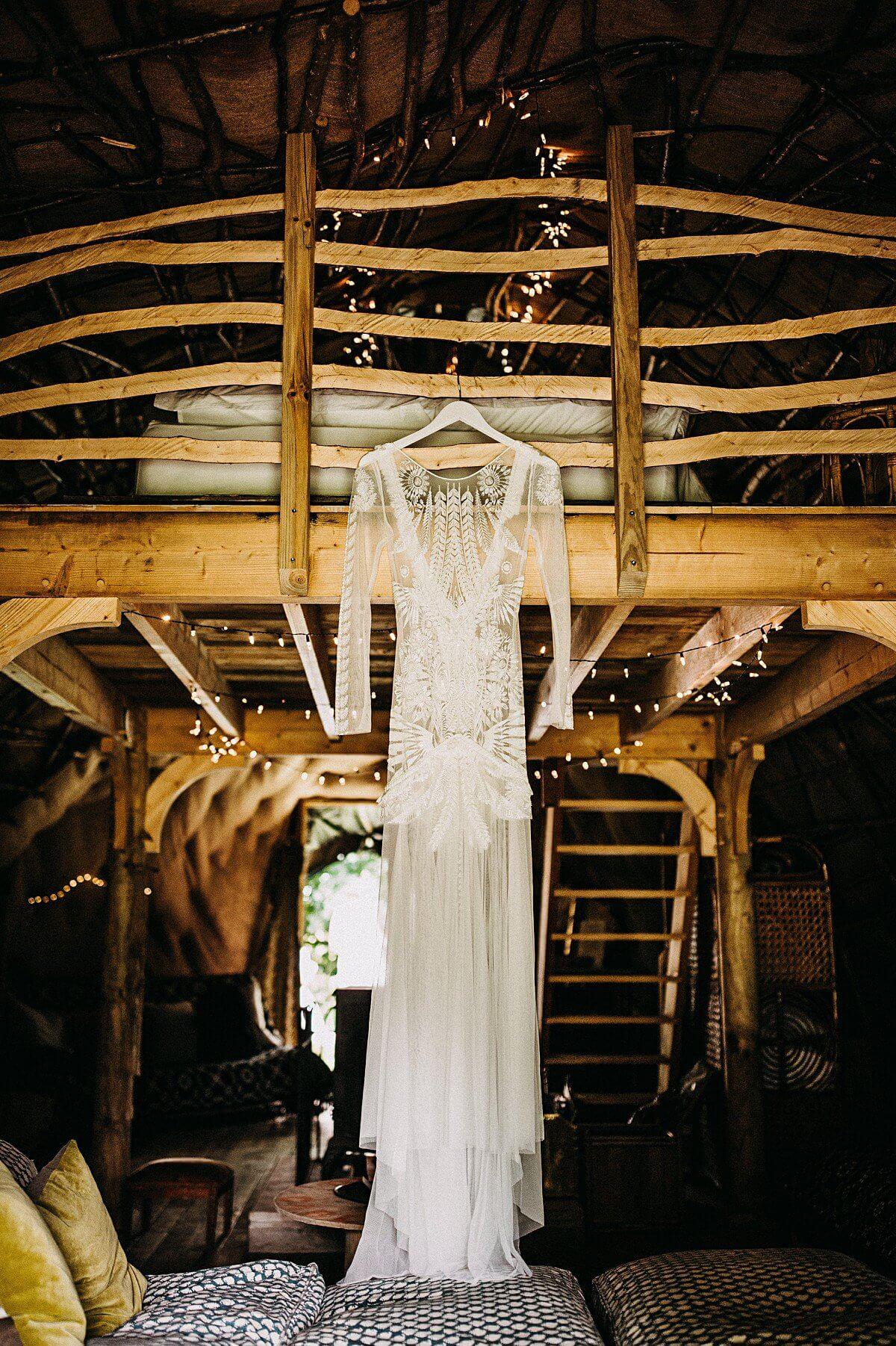 Boho Rue De Seine wedding dress