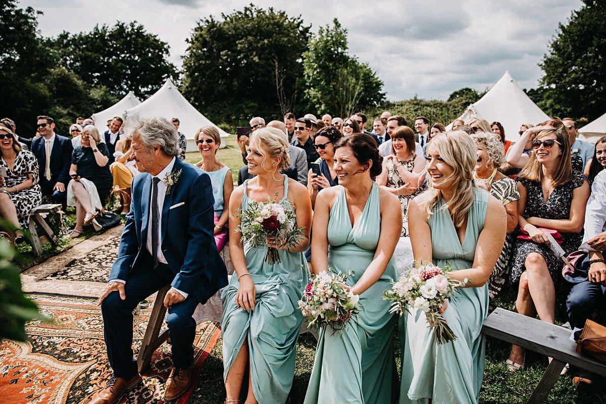 Outdoor wedding Norfolk