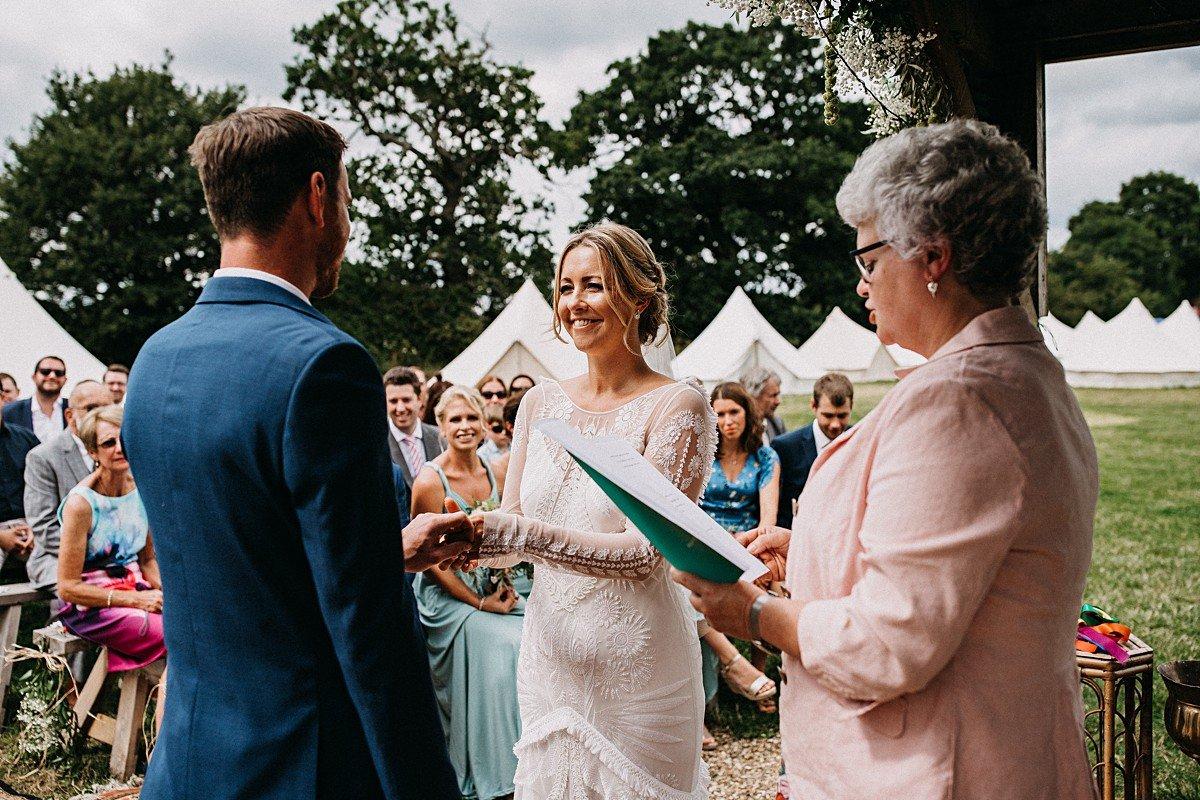 Humanist wedding in Norfolk