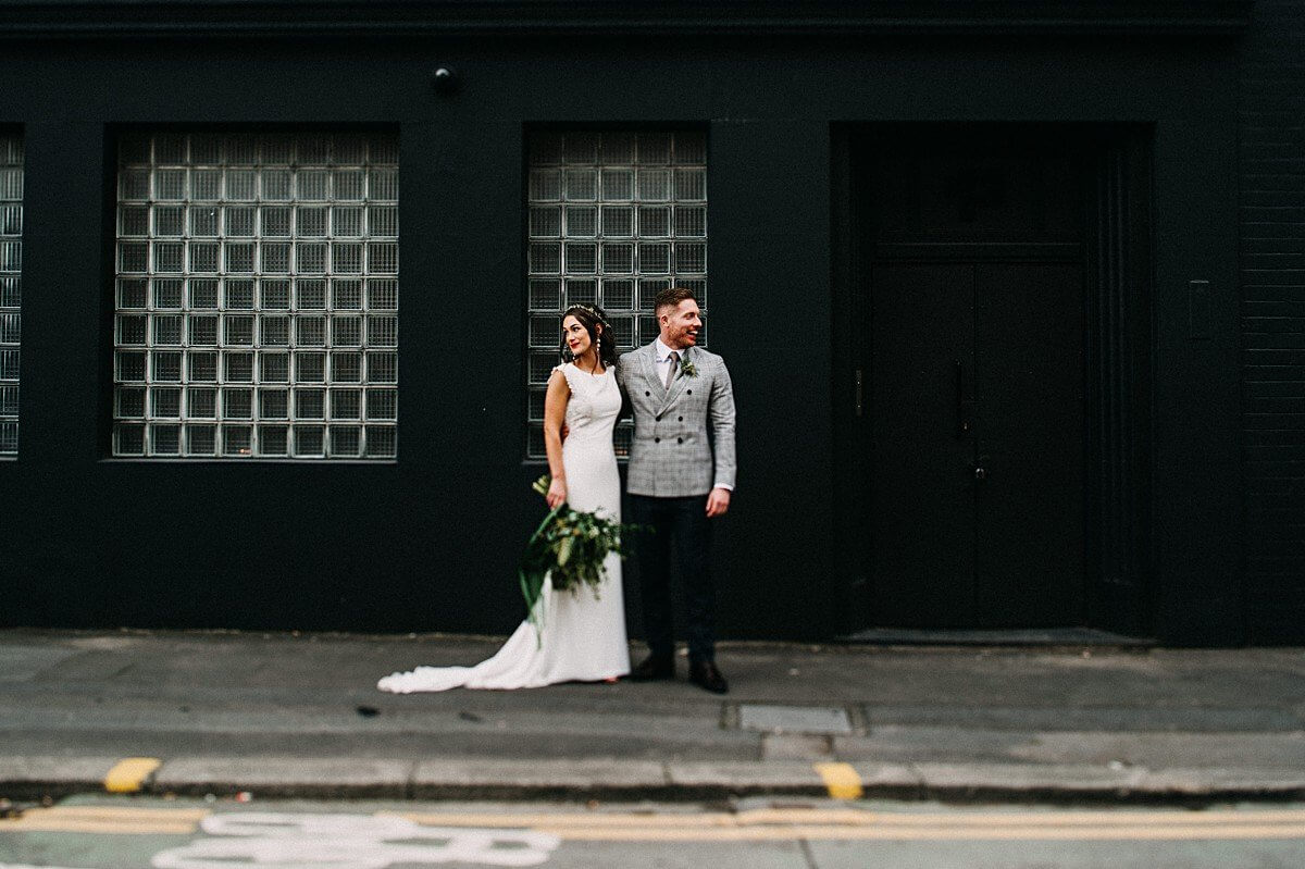 Alternative Manchester wedding