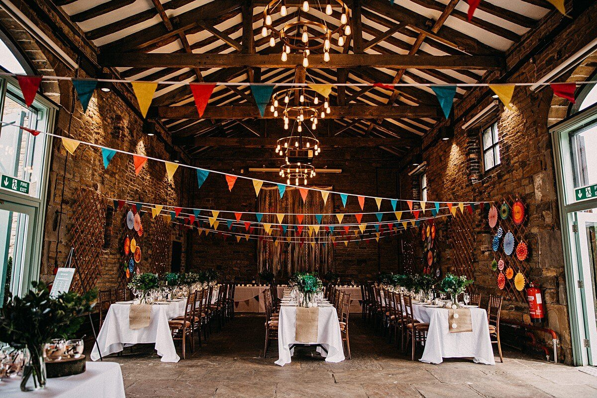 Oakwell Hall wedding barn