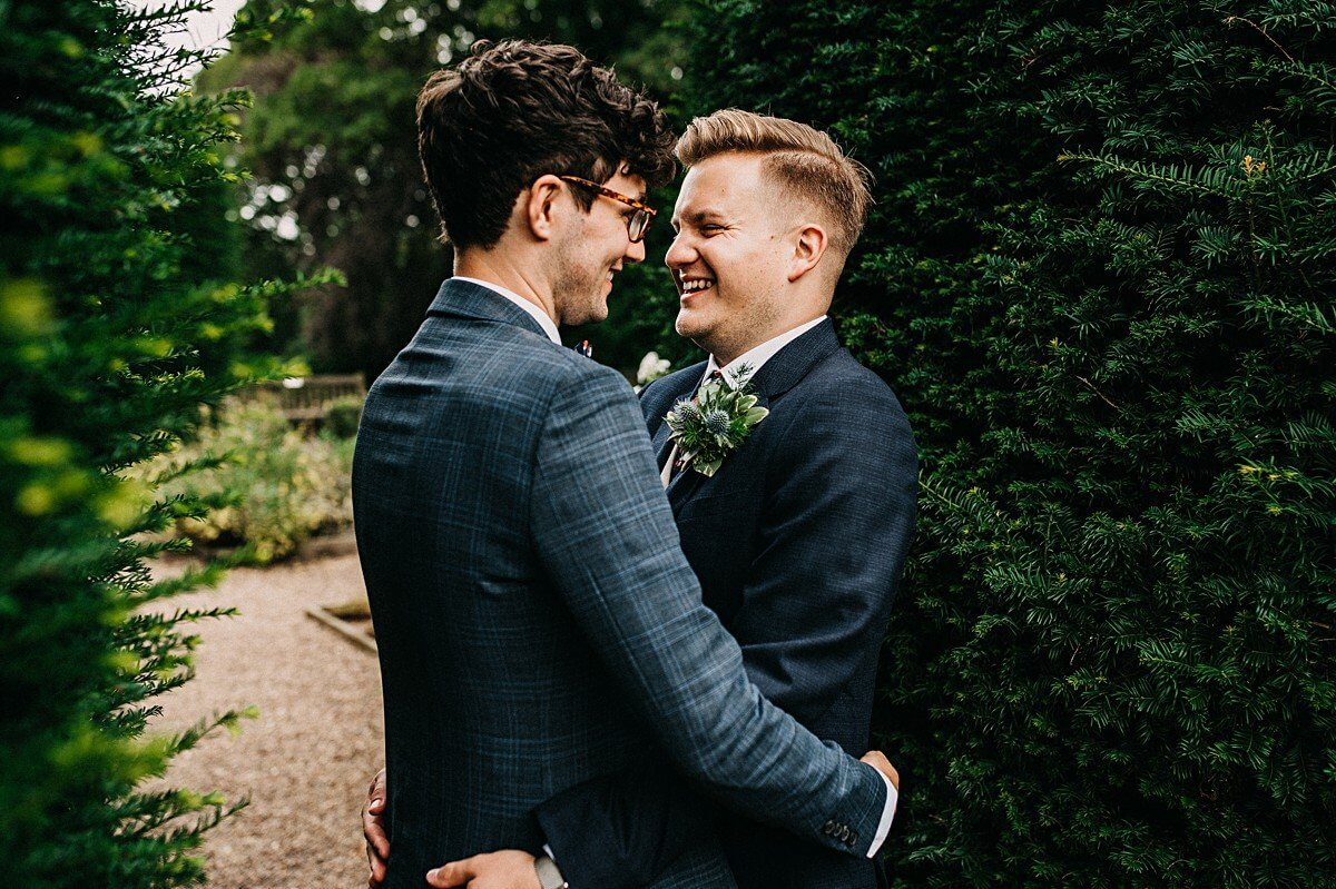 Same sex wedding portraits