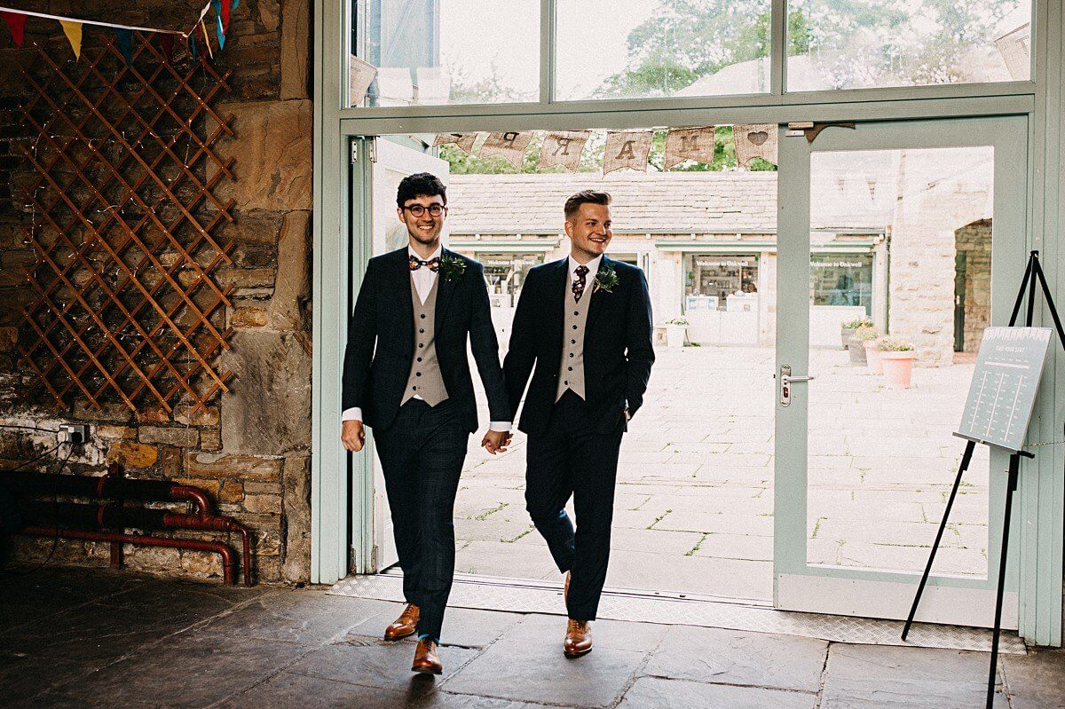 Same sex wedding Yorkshire