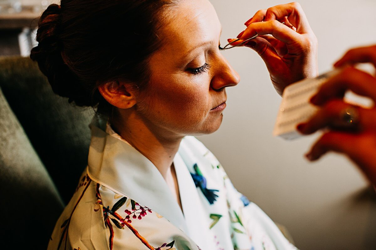 Lancashire wedding makeup by Sarah Elisabeth