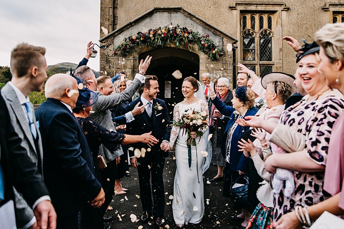 Autumnal Inn at Whitewell Wedding