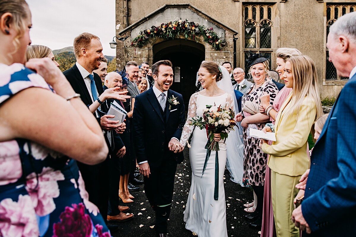 Relaxed Lancashire wedding photographer