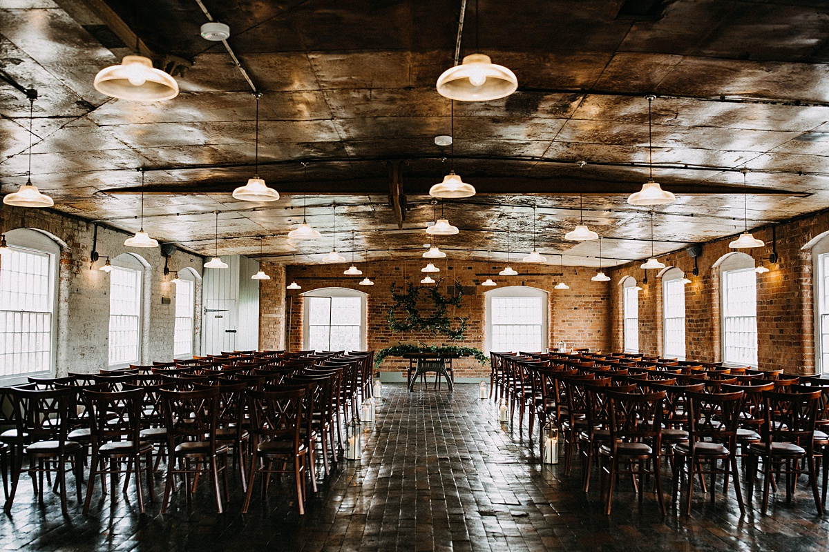 West Mill wedding ceremony room
