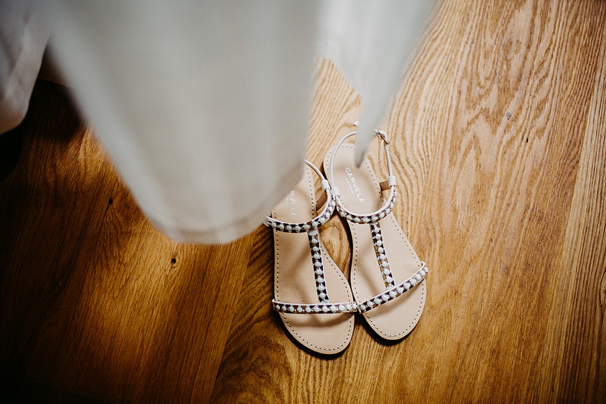 Wedding t bar sandals