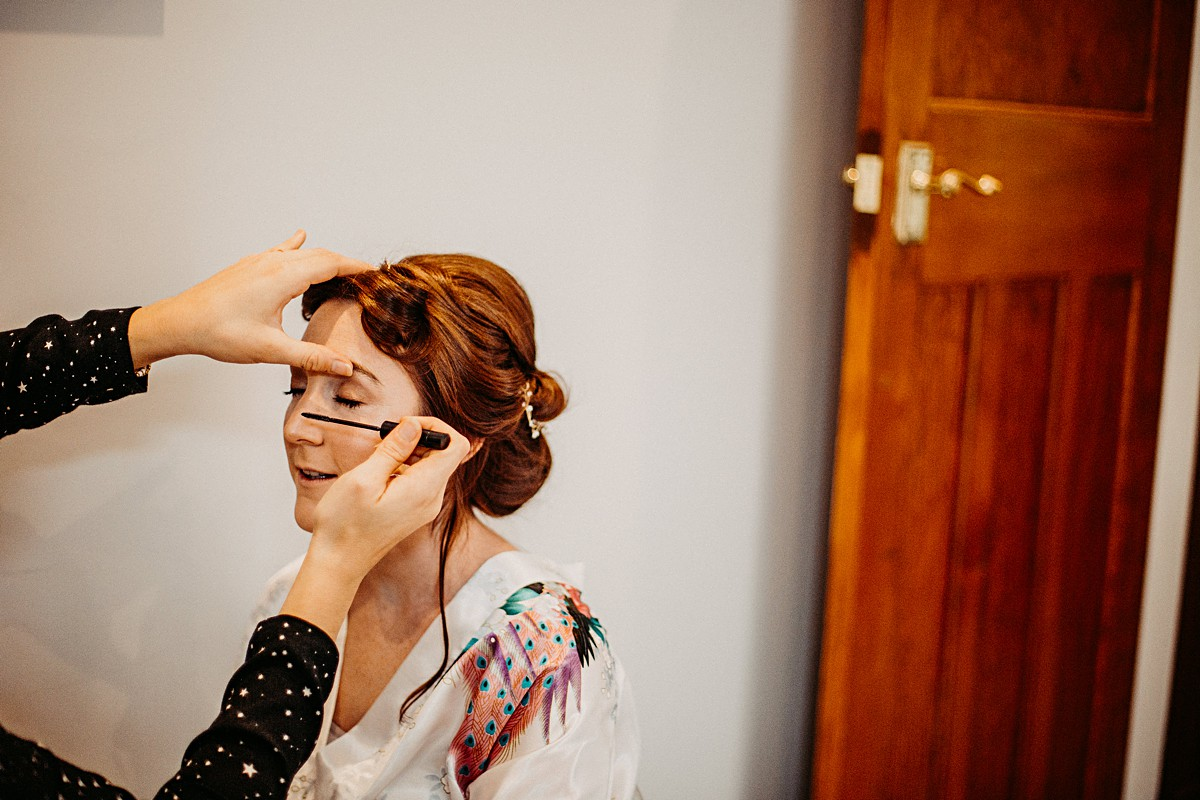 Bridal wedding makeup from Jodie Smith