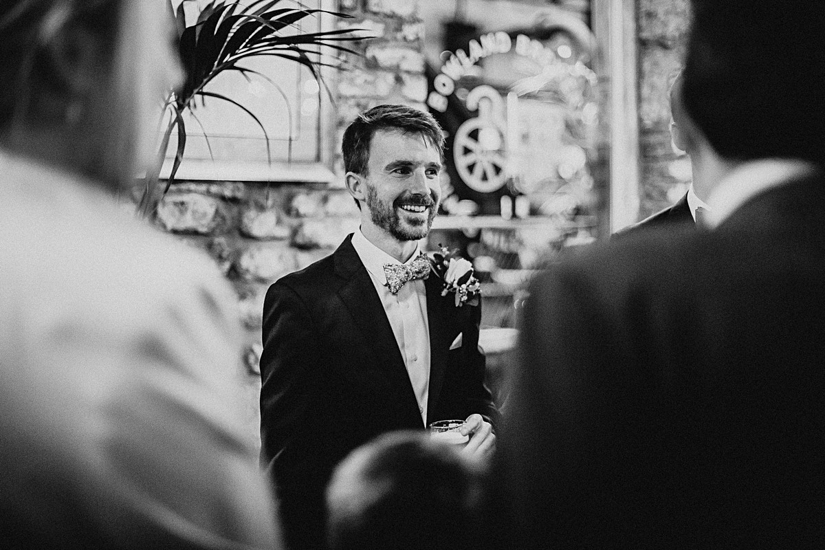 The groom at Holmes Mill