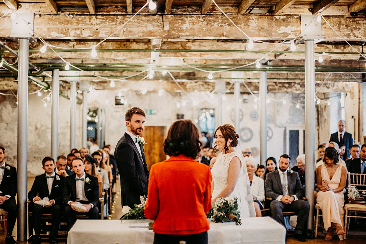 Beautiful ceremony at Holmes Mill