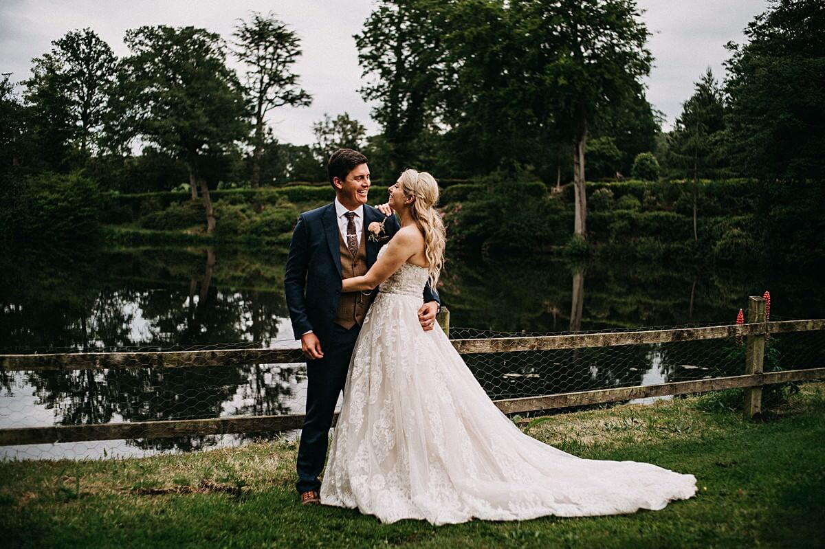 Whitmore Hall Tipi wedding
