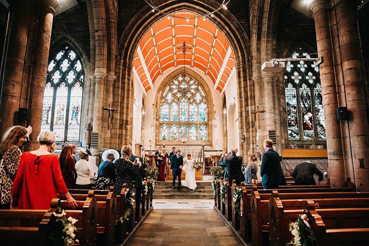Rustic wedding Lancashire