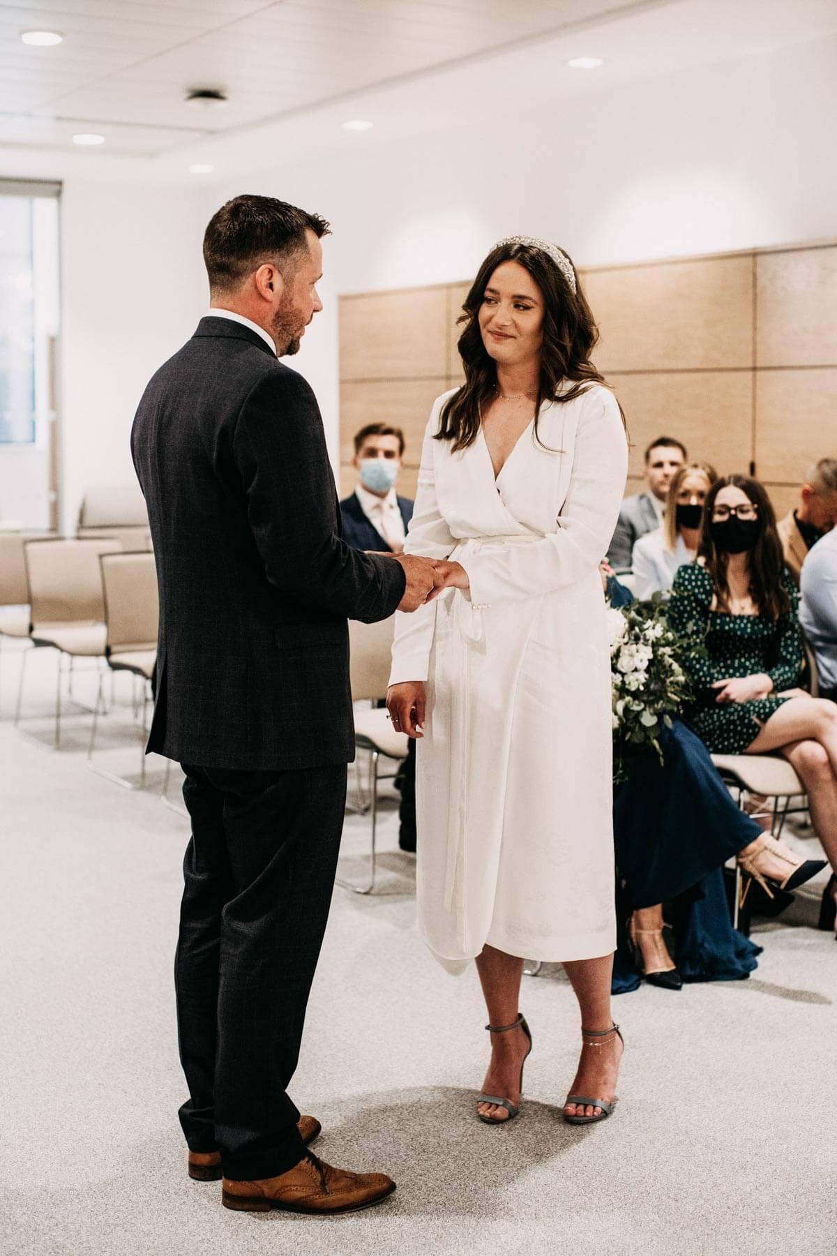 Intimate Cheshire wedding ceremony